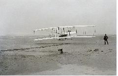 라이트 형제, 세계 최초 비행 성공