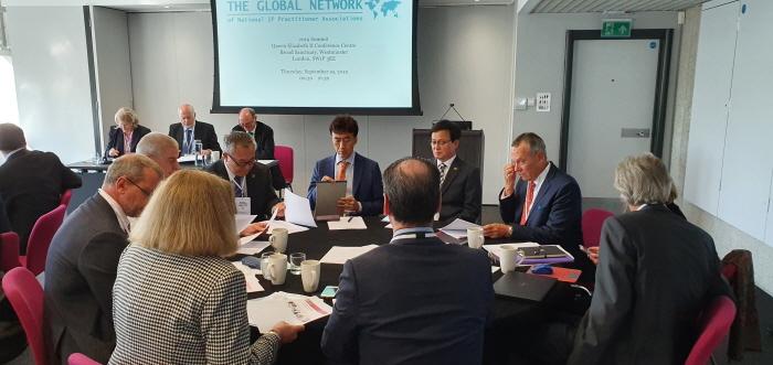 대한변리사회 대표단, 런던 제11차 GNIPA 회의 참석
