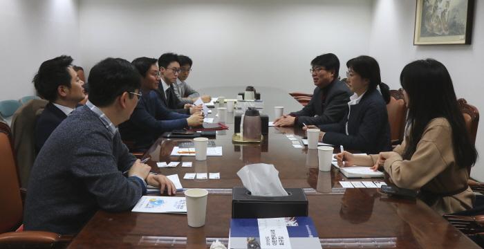 경기도 과학기술과 업무협력 논의