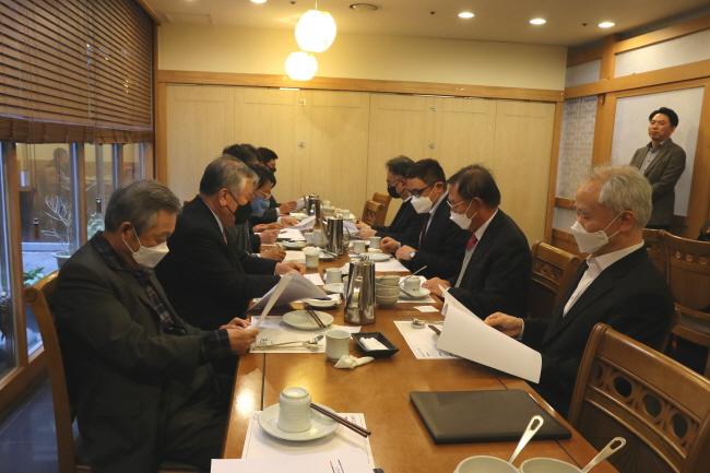 변리사회, 제1차 고문 회의