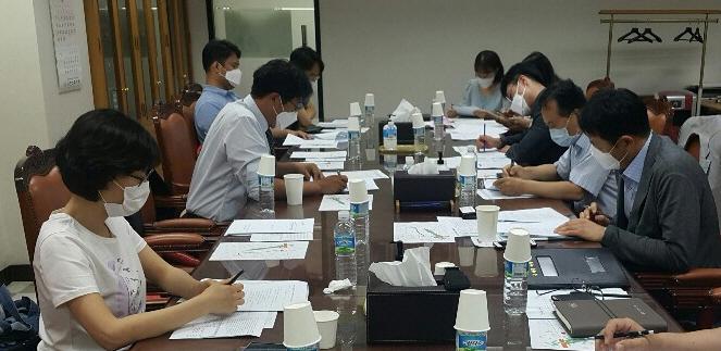 대의원회 제1차 예결산소위원회 개최