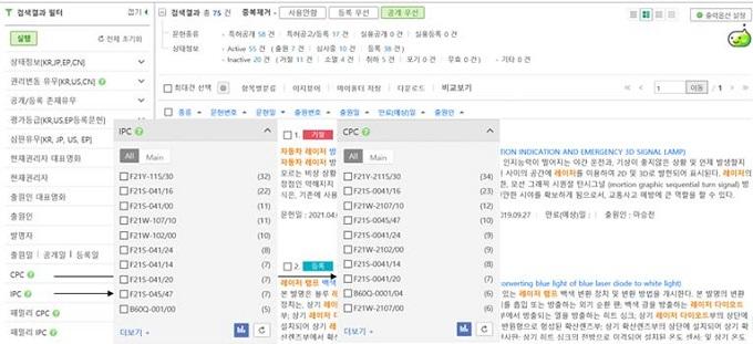 검색식 작성 및 검색 결과 활용 방법